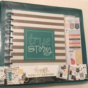 Happy Memory Keeping Big Box True Story Planner
